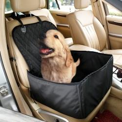 Hund Autoschondecke Autositzbezug Autoschutzdecke Hundedecke schwarz