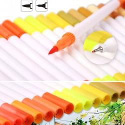 Buntstifte Pinselstift Stifte Set Wasserfarben Effekt 60 Farben Stifte