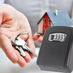 Schlüsseltresor Schlüsselbox Schlüsselsafe für Wandmontage Schwarz
