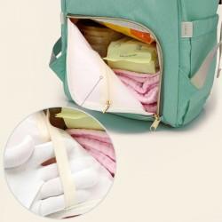 Baby Multitasche Wickeltasche mit Wickelunterlage Reisetasche Grün
