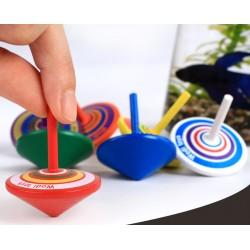 Holzkreisel Mitgebsel Spielzeugkreisel Kreisel aus Holz Zufällig 14er