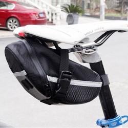 Fahrrad Mountainbike Schlauch Beutel Werkzeugtasche Tasche schwarz