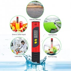 PH Wert Wasserqualität Meter Messgerät Messer Tester mit LED Display