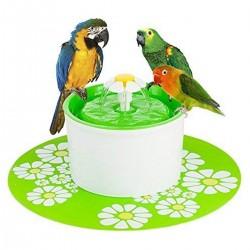 Trinkbrunnen Wasserspender Blumentrinkbrunnen für Haustier mit Filter