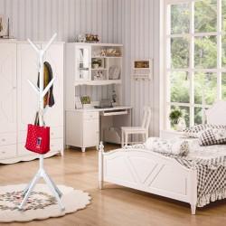Kleiderständer Garderobenständer Standgarderobe aus Holz mit 8 Haken
