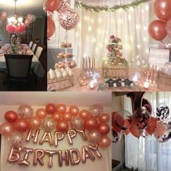 Ballons Luftballons Konfetti Latex 30pcs für Hochzeit Geburtstag Deko