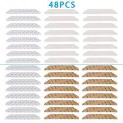 Antirutschmatte Teppichunterlage Aufkleber Greifer 48pcs für Teppich