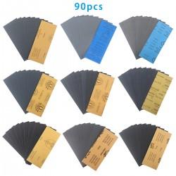 Schleifpapier Sortiment-Set für Schleifen 400-3000 Körnung 90pcs