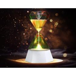 Tischlampen LED Nacht Licht Hourglass Induktion Sanduhr Nachtlicht RGB