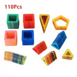 Magnetisch Bausteine Blöcke Bauklötze Pädagogisch Spielzeug 110er Set