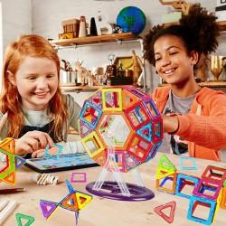 Magnetisch Bausteine Blöcke Bauklötze Pädagogisch Spielzeug 108er Set