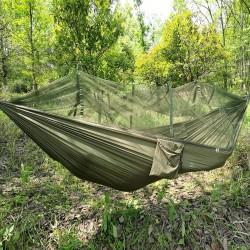 Reisehängematte Hängematte Outdoor Hammock mit Aufhängeset bis 300kg