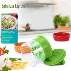 Gemüse Gemüsehobel Spiralschneider Hand für Gemüsespaghetti 3 in 1