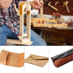 DIY Leder Halteklammer Halteclip zum festhalten des Leders Werkzeug Set