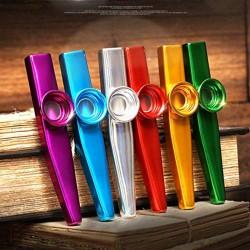 Kazoo Musikinstrumente Flötenblende Multipack für Kinder Party 6er Set