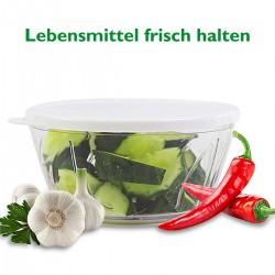 Zwiebel Zerkleiner Knoblauchpresse Mini Gemüseschneider Schneider