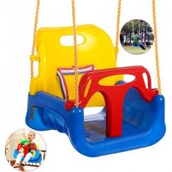 Schaukelsitz Babyschaukel Babysitz Gartenschaukel 3in1 für Kinder