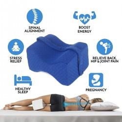 Orthopädisch Knie-Kissen für Seitenschläfer sorgt für Druckentlastung