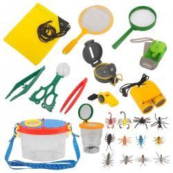 23er Adventurer Forscherset Explorer Draussen Spielzeug für Camping