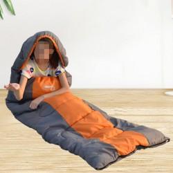 Schlafsack Outdoor Camping Deckenschlafsack Weich Dick und Warm