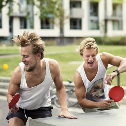Tischtennis Tischtennisschläger Schläger Ping-Pong Set mit Bälle