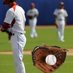 Baseball Handschuh Trainings Handschuh für Kinder Erwachsene mit Ball