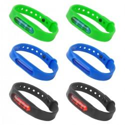 6pcs Armband Mückenschutz Wristband Anti Mosquito Bracelet Mücken Set