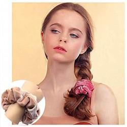 36 Stück Haargummis Mädchen Haar Scrunchies Elastische Haarbänder