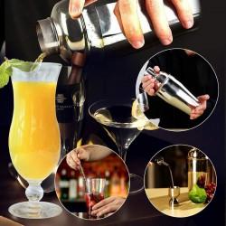 Cocktail Set 12 Teilig Cocktail Shaker Cocktail 750ml Zubehör Bar Set