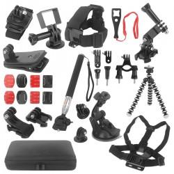 Handheld Kamera-Halterungen Fahrrad Auto Rucksack Cliphalterung für Osmo