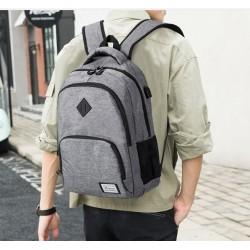 Student Notebook Backpack Schulrucksack mit USB-Ladeanschluss