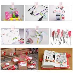 50 Rollen Glitter Washi Tape Abdeckband für DIY Geschenkpapier