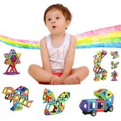 Magnetspielzeug Lernspielzeug 3D Buchstabe Pädagogisch Spielzeug