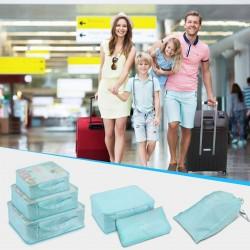 Koffer Organizer Set 8 teilig Kleidertaschen Schuhbeutel für Kleidung