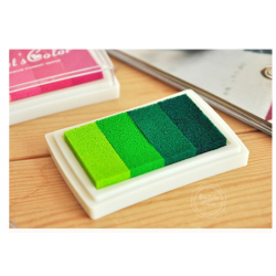 24 Farben Fingerabdruck Stempelkissen Tinte Stamp für Papier Handwerk