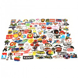100pcs Vinyl Stickers Graffitti Decals Stickerbomb für Auto Mottoräde