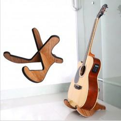 Ständer Holz Gitarrenständer Instrumentenständer für Gitarren