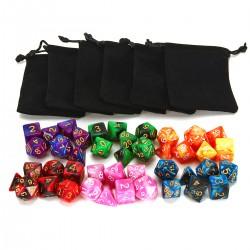 42er Doppel-Farben Tisch Spiel Würfel für Dungeons Dragons Pathfinder