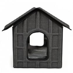 Katzenhaus Katzenhütte Katzenhöhle Haustier Haus Cat House mit Matratze