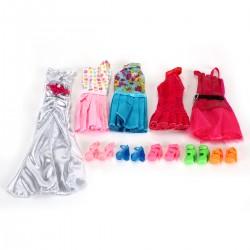 Schuhe Kleidung Zubehör Set für Barbie Puppen für Kinder Geschenk