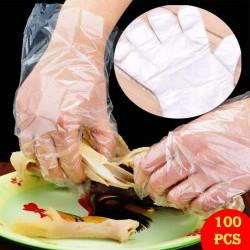 100 Mehrzweck Latex Lebensmittelkontakt Einweg Sicherheit Handschuhe