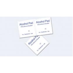 100Pcs Alkoholtücher Reinigungstücher Desinfektionstücher Feuchttücher