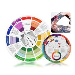 2 Stück Farbrad Farbe Mischen Farbführer Kunstunterricht Lehrmittel