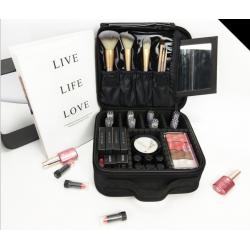 Kosmetikkoffer Schminktasche MakeUp Organizer Schmink Aufbewahrung