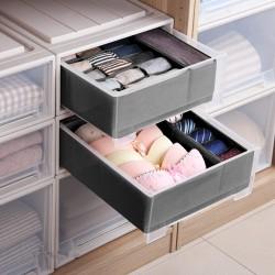 Schrank Schubladen Ordnungssystem 4er Faltbox Kleiderschrank Organizer