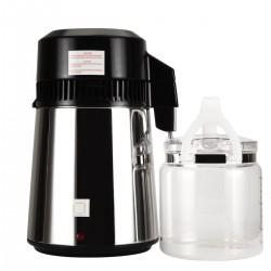 Wasser Destillergerät Reinwasser Distiller Destillierfilter Edelstahl 4L