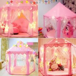Kinderhaus Spielzeug Kinderzelt Prinzessin Spielzelt für Mädchen