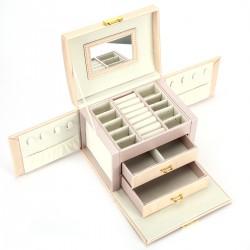 Schmuckkasten Kosmetikkoffer abschliessbar Schmuckbox Schatulle