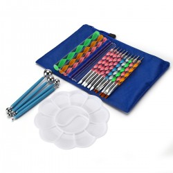 32pcs Mandala Malerei Punktierwerkzeuge Kunst Malwerkzeuge Set für DIY