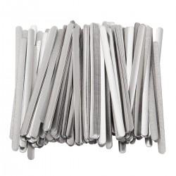 Metallbügel Aluminium Nasenbrücke Nasenstreifen Verschlussclips 200pcs